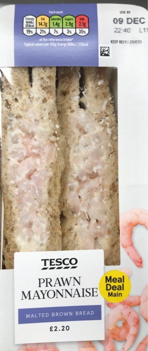 Tesco Prawn Mayonnaise Sandwich - Produit - en