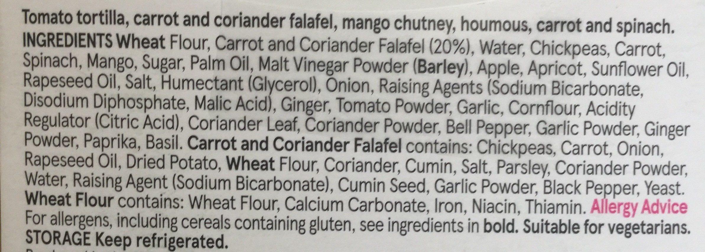 Falafel & houmous - Ingrediënten - fr