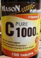 Pure C 1000mg de MasoN - Product