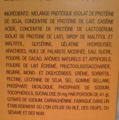 Barre  proteinée - Ingredients - fr