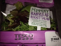Peppery babyleaf rocket salad - Product