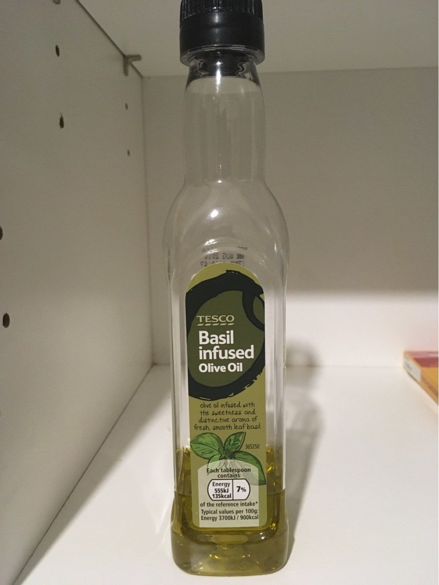 Basil infused Olive Oil - Product