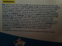 Cheeseburgers - Ingredients - fr