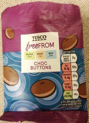 Tesco choc buttons - Prodotto - en