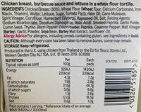 Bbq Chicken - Voedingswaarden