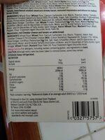 The triple - Informations nutritionnelles - es