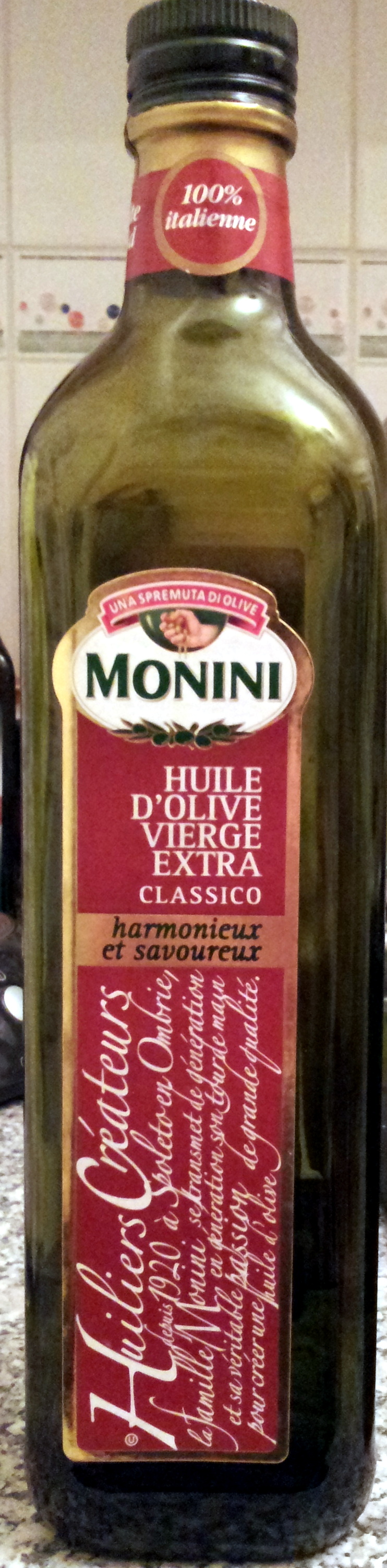 Huile d'Olive Vierge Extra Classico - Product - fr