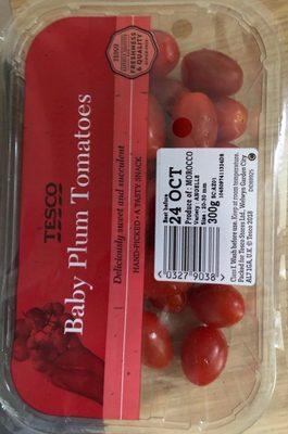 Baby Plum Tomatoes - Produit - fr