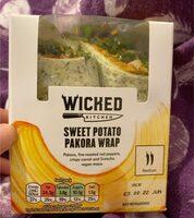 Sweet Potato Pakora Wrap - Product - en