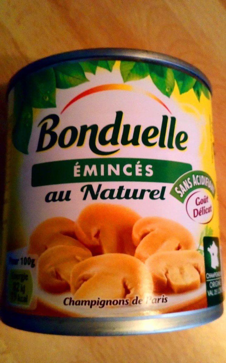 Émincés au naturel - Produit - fr