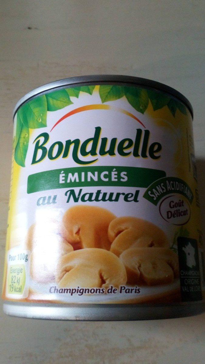 Émincés au naturel - Ingrédients - fr