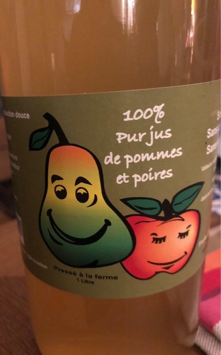 100% jus pommes poires - Produkt