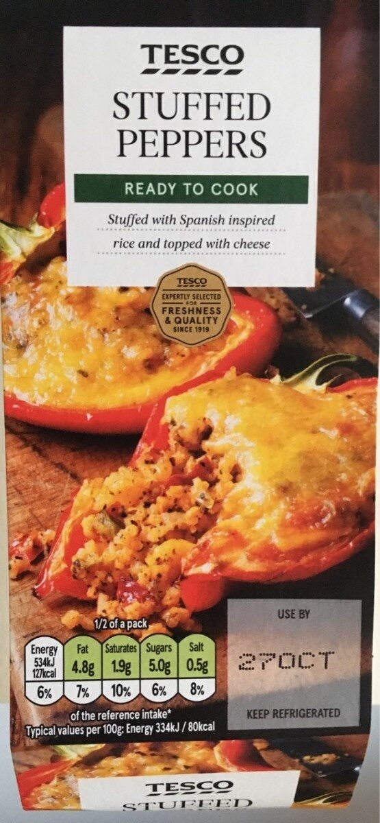 Stuffed peppers - Product