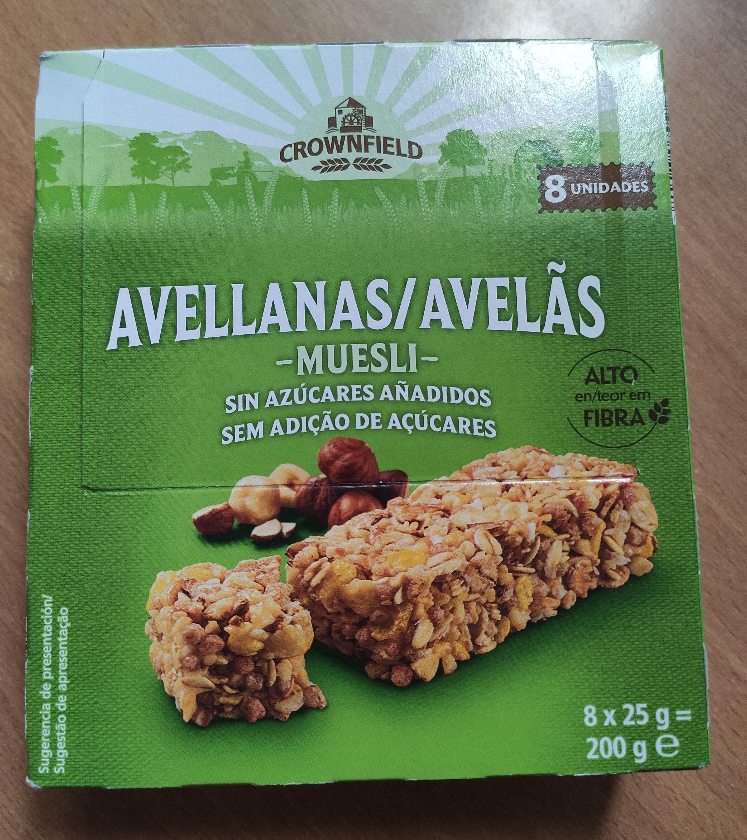 Barritas de cereales con avellanas - Producte - es