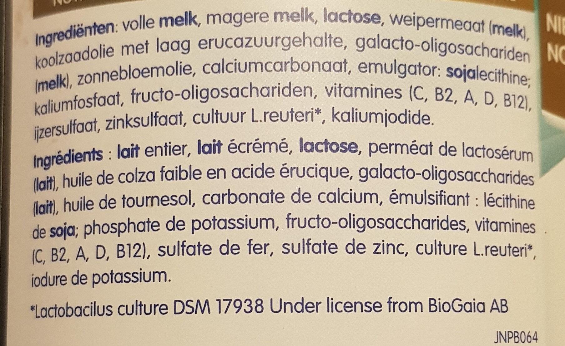NAN OPTIPRO 4 - Ingredients - fr
