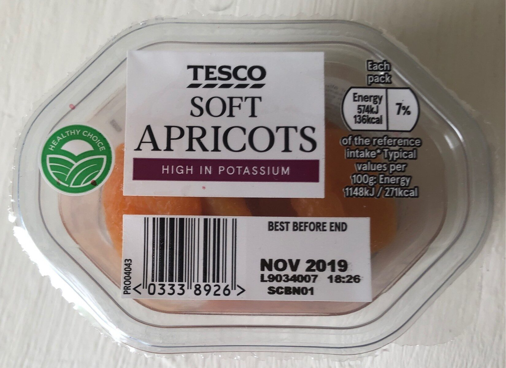 Soft Apricots - Product - en