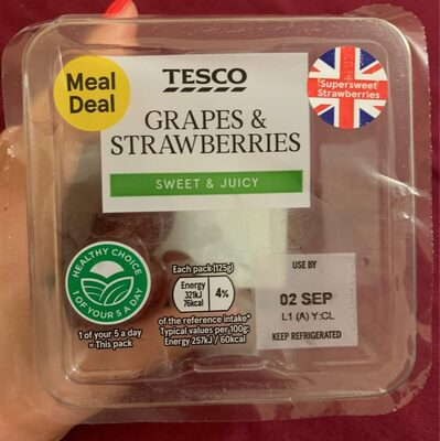 Grapes & strawberries - Product