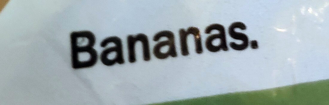 banana - Ingredients - en