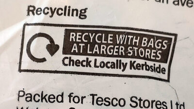 banana - Recycling instructions and/or packaging information - en