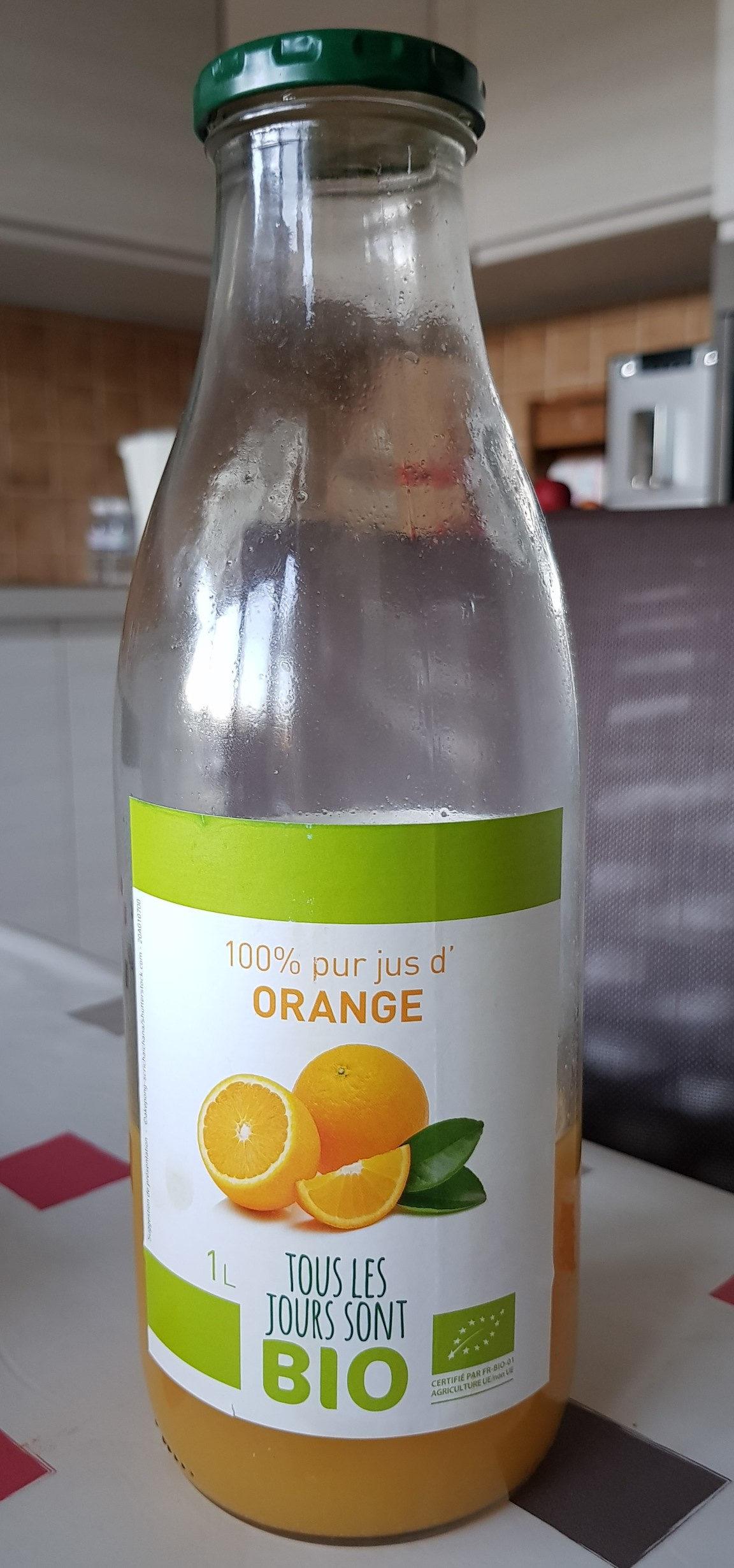 100% pur jus d'orange - Product - fr