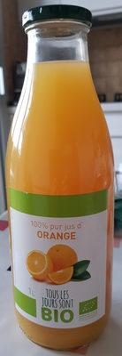 100% pur jus d'orange - Ingrediënten - fr