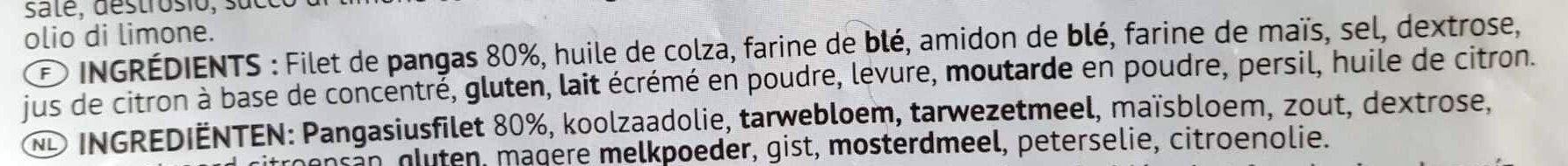"""Pangasius """"Petit"""" - Ingredients - fr"""