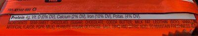 Reese's Dark - Ingredients - nl