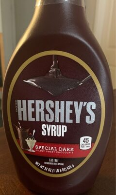 Hershey's Syrup Special Dark Chocolate - Product - en