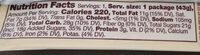Cookies 'n' creme - Nutrition facts - en