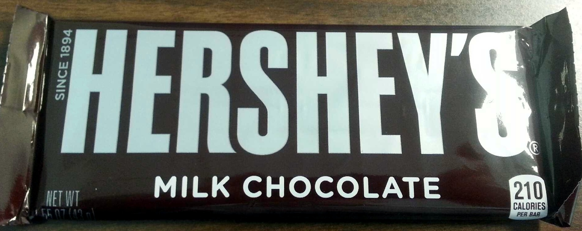 Hershey's Milk Chocolate - Product - en