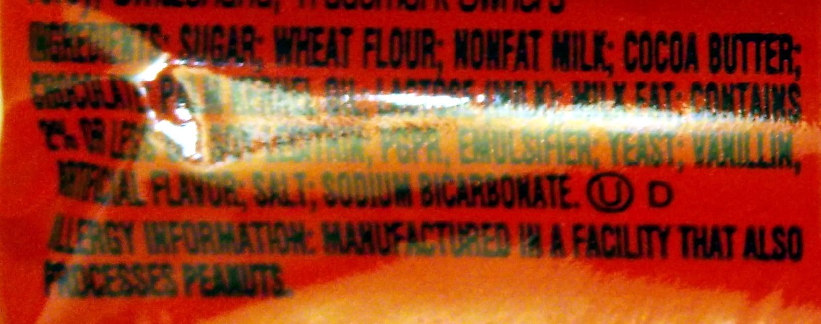 Kit Kat - Ingredients - en