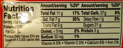Kit Kat - Nutrition facts - en