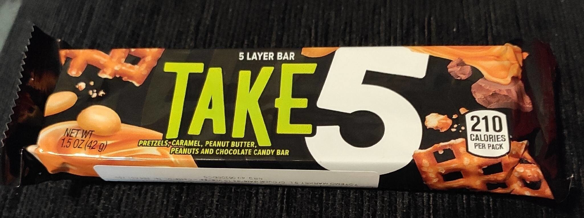 Take5 Candy Bar, 1.5 Ounces - Product