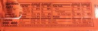 King Size Peanut Butter Cups - Informations nutritionnelles - fr