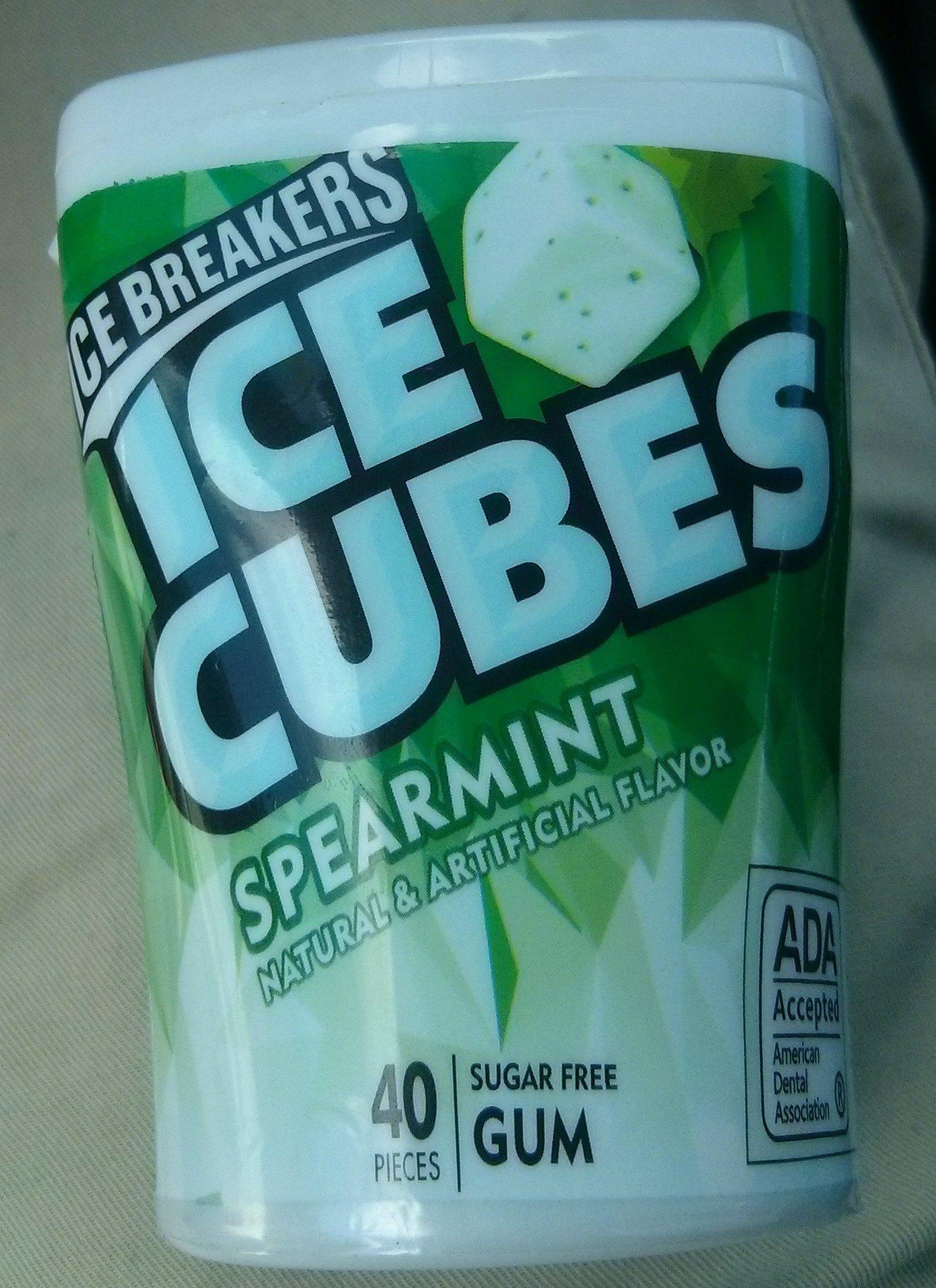 Ice cubes sugar free gum - Product - en