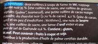 Petits carrés - Ingrediënten - fr