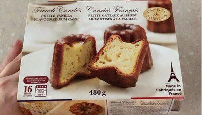 Canelés francais - Produit - fr