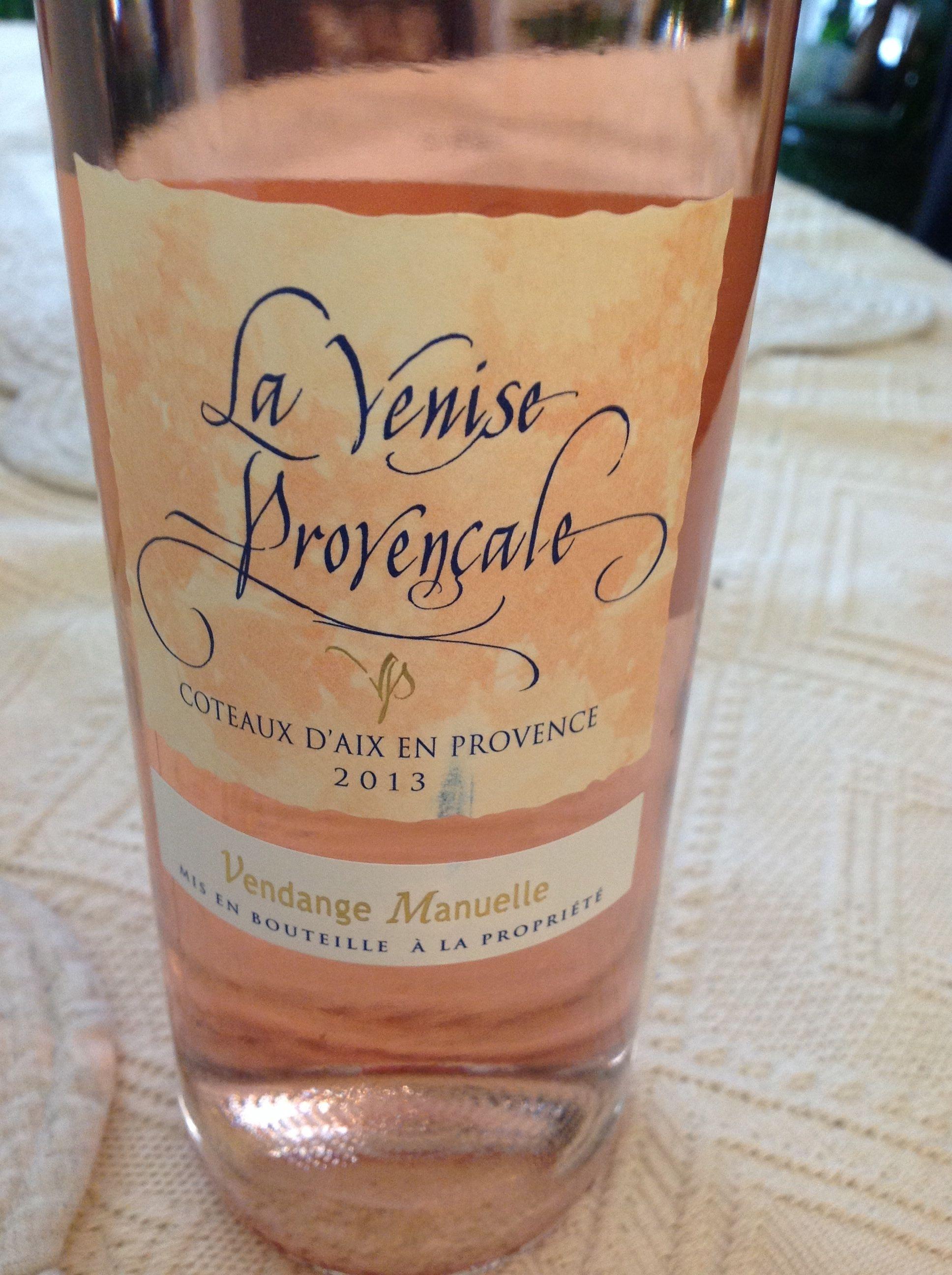La Venise provençale coteaux d'Aix-en-Provence 2013 vendanges manuelles - Product