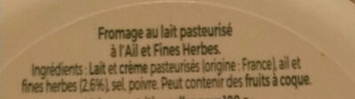Tartare - familial - Ingrédients - fr