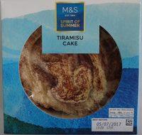 Cake Tiramisu - Product - fr