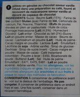 Cake Tiramisu - Ingredients - fr