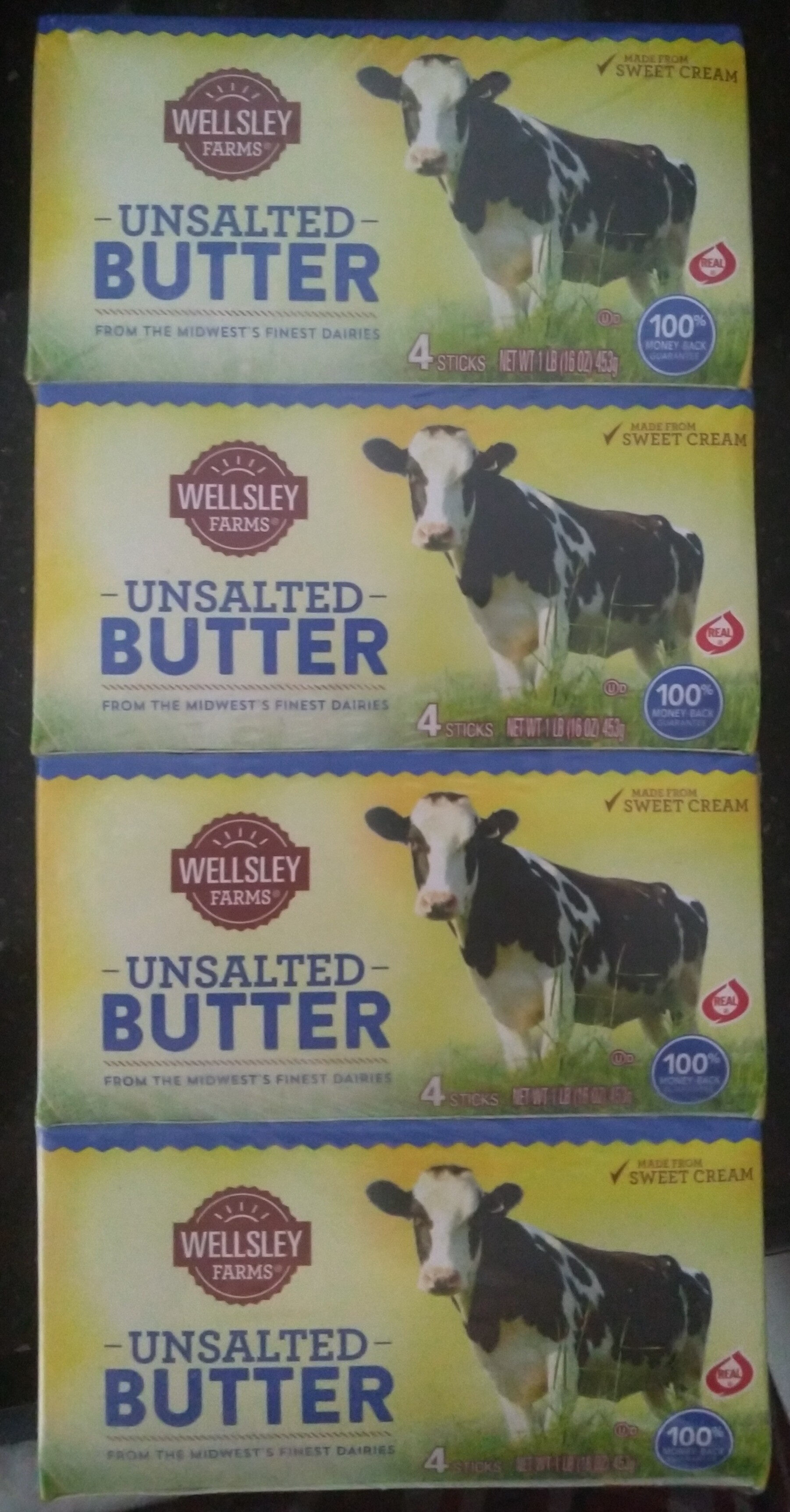 unsalted butter - Product - en