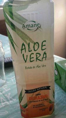 bebida de aloe vera sabor durazno - Producto