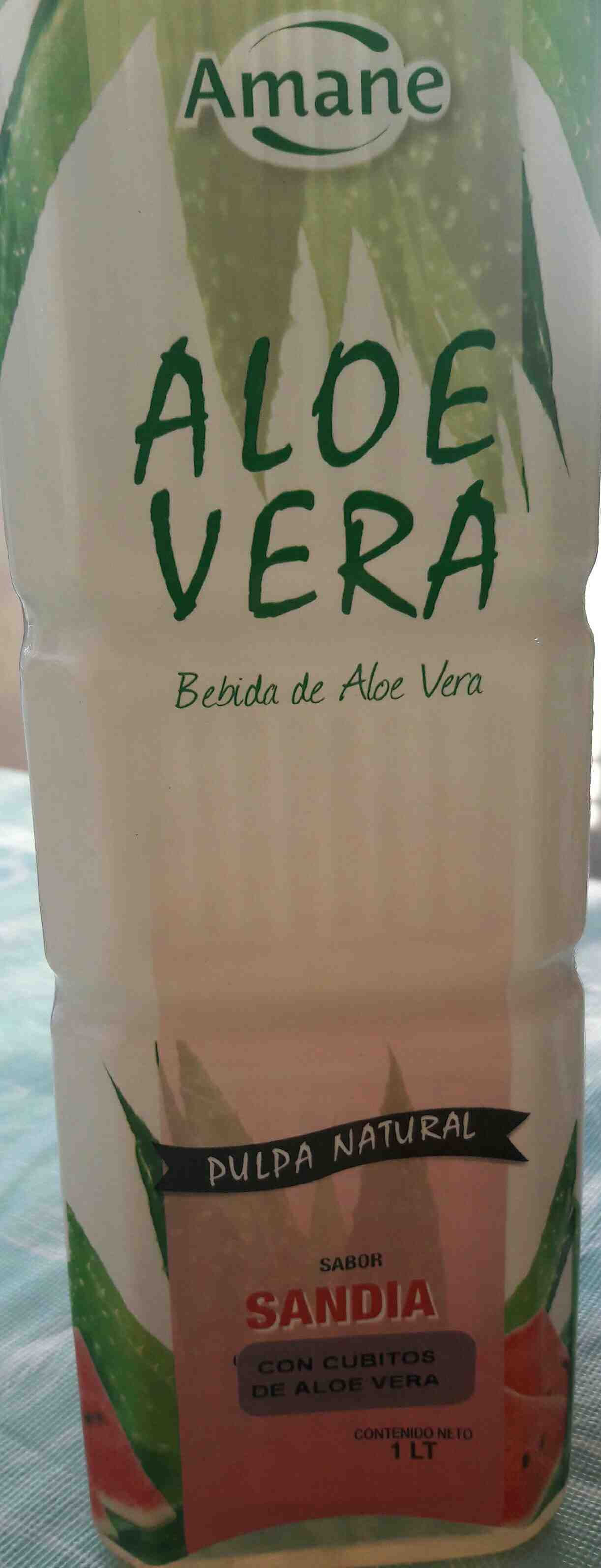 bebida de aloe vera sabor sandia - Producte