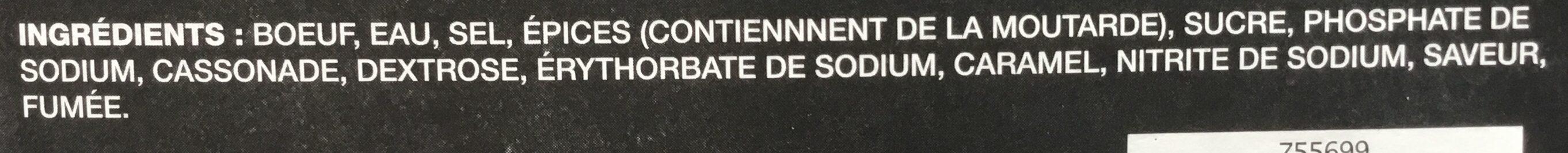 Montréal Smoked Meat - Ingrédients - fr