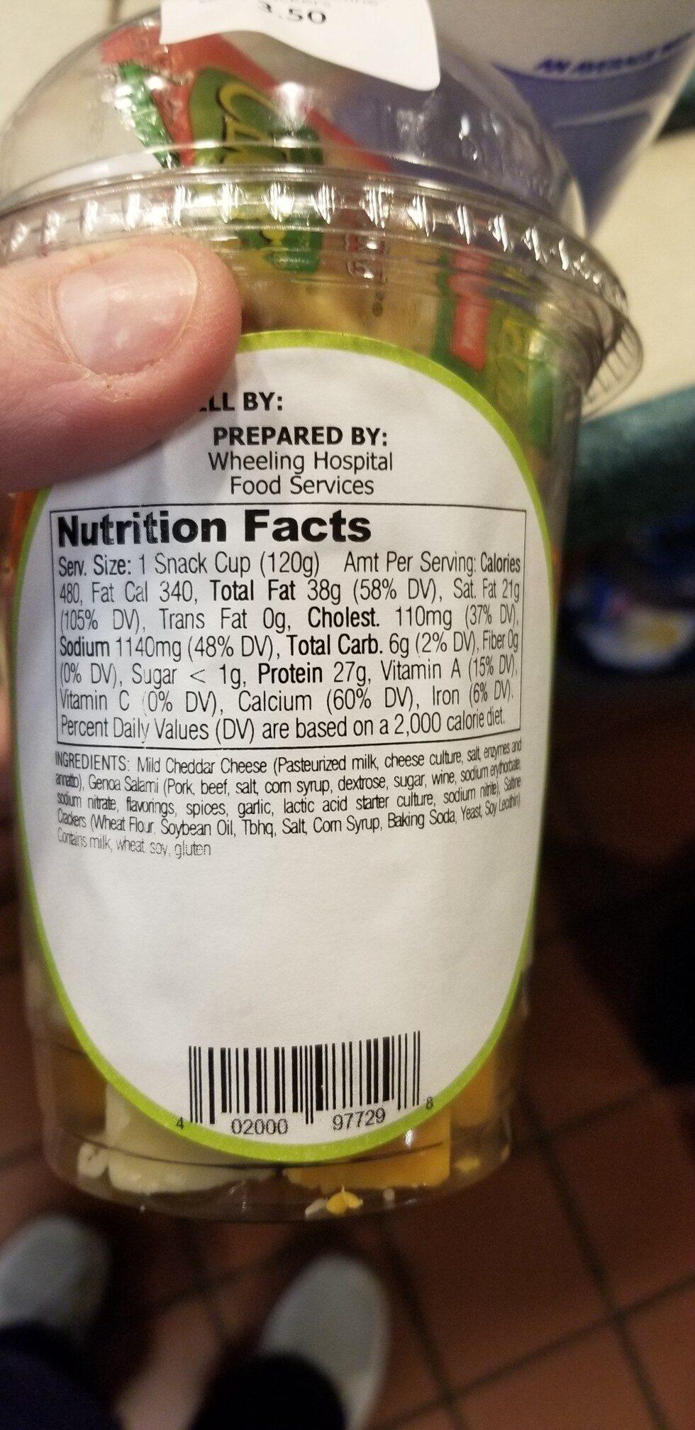 snack - Ingredients - en