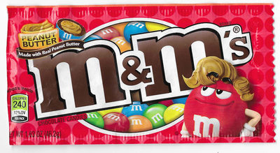 Peanut butter chocolate candies - Product - en