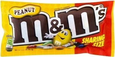 M &M'S Peanut Chocolate Candies Sharing Size - Product - en