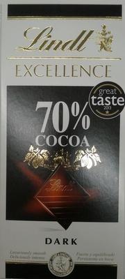 Dark Chocolate 70% Cocoa - Product