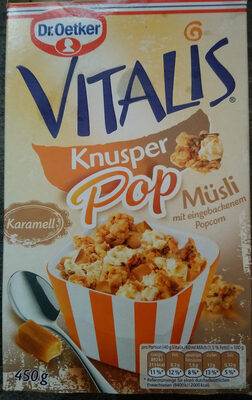 Knusper Pop Müsli - Product - de